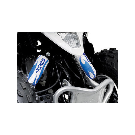 Suzuki Genuine Accessories Front Shock Cover - Tribal White - Main