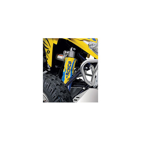 Suzuki Genuine Accessories Rear Shock Cover - Tribal Yellow - Main