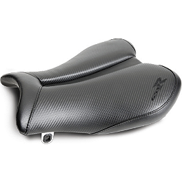 Suzuki Genuine Accessories Gel Seat - Carbon Tech Channel - Suzuki Genuine Accessories Gel Seat - Carbon Look