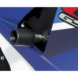 Suzuki Genuine Accessories Frame Sliders - Black - Suzuki Genuine Accessories Frame Sliders - White
