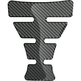 Suzuki Genuine Accessories Carbon Tank Pad - Large - Suzuki Genuine Accessories Flyscreen - Light Smoke