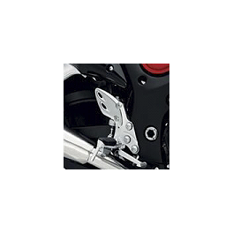 Suzuki Genuine Accessories Heelguard Trim - Silver Carbon - Graves Carbon Fiber Replacement Heel Guard For Graves Rearset