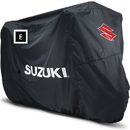 Suzuki Genuine Accessories Cycle Cover - 2011 Suzuki GSX1250FA Suzuki Genuine Accessories Side Case Mount