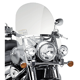 Suzuki Genuine Accessories Adjustable Touring Windshield - Suzuki Genuine Accessories Windshield - Clear