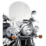 Suzuki Genuine Accessories Adjustable Touring Windshield - Suzuki OEM Parts Cruiser Wind Shield and Accessories
