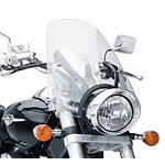 Suzuki Genuine Accessories Windshield - Clear - Motorcycle Windshields & Accessories