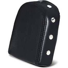 Suzuki Genuine Accessories Billet Studded Passenger Backrest Pad - Tall - 2006 Suzuki Boulevard C90 - VL1500B Suzuki Genuine Accessories Fender Rack