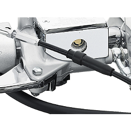 Suzuki Genuine Accessories Master Cylinder Trim - 2009 Suzuki Boulevard S50 - VS800 Kuryakyn Replacement Turn Signal Lenses - Clear