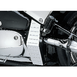 Suzuki Genuine Accessories Frame Cover - 2005 Suzuki Boulevard C50 SE - VL800ZB Suzuki Genuine Accessories Billet Rear Rack