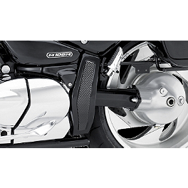Suzuki Genuine Accessories Carbon Fiber Lower Frame Covers - Suzuki Genuine Accessories Tank Cover - Carbon Look