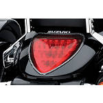 Suzuki Genuine Accessories Carbon Fiber Tail Trim -  Cruiser Lights & Lighting