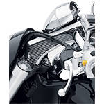 Suzuki Genuine Accessories Carbon Fiber Fork Crown Trim - Suzuki OEM Parts Cruiser Hand Controls