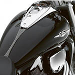 Suzuki Genuine Accessories Carbon Fiber Tank Trim - PARTS Cruiser Body
