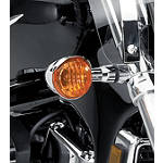 Suzuki Genuine Accessories Turn Signal Visors -  Cruiser Lights & Lighting