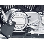 Suzuki Genuine Accessories Billet Engine Cover - Milled Plain - Cruiser Engine Parts and Accessories