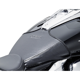 Suzuki Genuine Accessories Tank Cover - Suzuki Genuine Accessories Tank Cover - Carbon Look