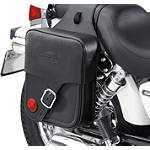 Suzuki Genuine Accessories Throw-Over Saddlebag - Classic - Suzuki OEM Parts Cruiser Saddle Bags