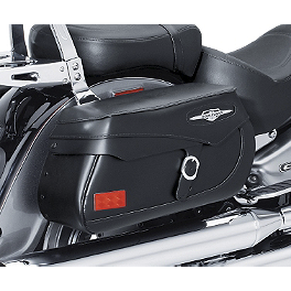 Suzuki Genuine Accessories Leather Saddlebags - Classic - 2006 Suzuki Boulevard C90 - VL1500B Suzuki Genuine Accessories Fender Rack