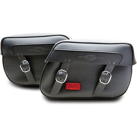 Suzuki Genuine Accessories Synthetic Leather Saddlebags - Classic - Main