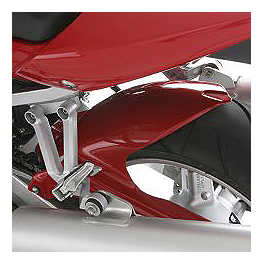 Suzuki Genuine Accessories Rear Hugger - Red - Hotbodies Racing Rear Tire Hugger - Pearl Shining Yellow