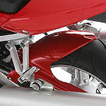 Suzuki Genuine Accessories Rear Hugger - Red - Motorcycle Fenders