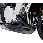 Suzuki Genuine Accessories Chin Spoiler - Black - Suzuki OEM Parts Motorcycle Body Parts