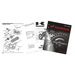 OEM Service Manual - 2006 Kawasaki KX250 OEM Service Manual