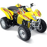 Suzuki Genuine Accessories Tribal Graphic Kit - Red / Yellow - Dirt Bike ATV Graphics and Decals