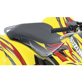 Suzuki Genuine Accessories Seat Cover - Tribal Red / Yellow - Suzuki Genuine Accessories Tribal Graphic Kit - Red / Yellow