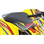 Suzuki Genuine Accessories Seat Cover - Tribal Red / Yellow - ATV Graphics and Decals