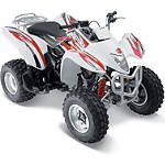 Suzuki Genuine Accessories Tribal Graphic Kit - White - ATV Graphics and Decals