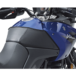 Suzuki Genuine Accessories Tank Cover - Carbon Look - 2007 Suzuki DL650 - V-Strom ABS Yana Shiki Hex Oil Cap - Polished
