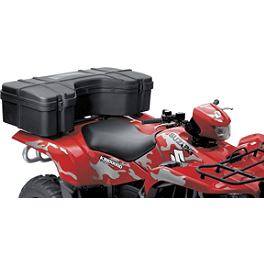 Suzuki Genuine Accessories Rack Utility Box - 2012 Suzuki KING QUAD 750AXi 4X4 Suzuki Genuine Accessories Warn Winch Mount