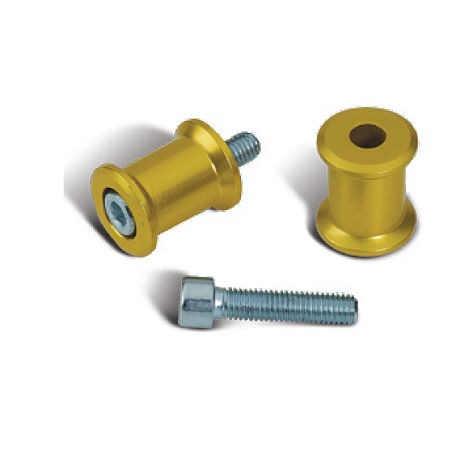 Suzuki Genuine Accessories Swingarm Spools - Gold - Main