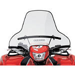 Suzuki Genuine Accessories Utility Windshield - Suzuki OEM Parts Utility ATV Body Parts and Accessories