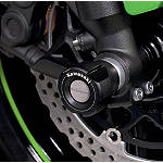 Kawasaki Genuine Accessories Front Axle Sliders - Kawasaki OEM Parts Motorcycle Body Parts