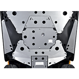 Kawasaki Genuine Accessories Skid Plate - Sides - Kawasaki Genuine Accessories Skid Plate - Rear 1