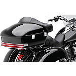 Kawasaki Genuine Accessories Trunk Kit - Ebony Black - Kawasaki OEM Parts Cruiser Luggage and Racks