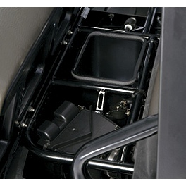 Kawasaki Genuine Accessories Underseat Storage Bin - Kawasaki Genuine Accessories Headrest