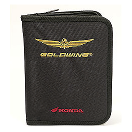 Honda Genuine Accessories Gold Wing Owner's Manual Folio - 2002 Honda Gold Wing 1800 - GL1800 Honda Genuine Accessories Replacement Foglight Lens Assembly