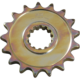 GYTR 525 Front Sprocket - 16 Tooth - 2000 Yamaha YZF - R6 GYTR R6 Bike Cover