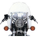 Yamaha Star Accessories Classic V Windshield - Yamaha Star Accessories Cruiser Wind Shield and Accessories