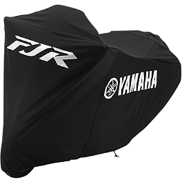 GYTR FJR1300 Bike Cover - Black - Sargent World Sport Performance Two Piece Seat With Silver Welt