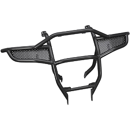 Yamaha Genuine OEM Heavy-Duty Front Brush Guard - 2010 Yamaha GRIZZLY 550 4X4 POWER STEERING Moose Utility Front Bumper