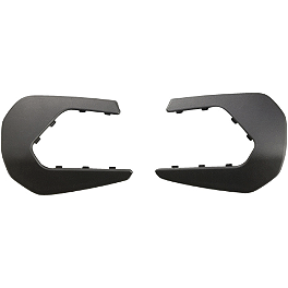 Yamaha Genuine OEM Brush Deflector Extensions - Black - Yamaha Genuine OEM Plastic Glide Plate