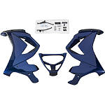 GYTR Lower Fairing Kit - Raven - Motorcycle Bodywork