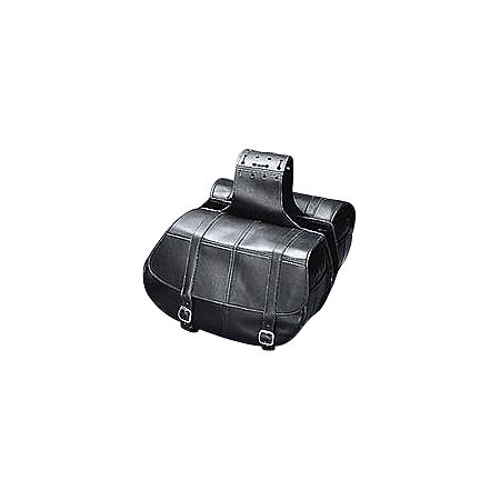 Yamaha Star Accessories Classic Deluxe Saddlebags - Plain - Main