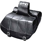 Yamaha Star Accessories Classic Deluxe Saddlebags - Plain - Yamaha Star Accessories Cruiser Luggage and Racks