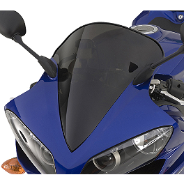 GYTR Raised Bubble Windscreen - Tinted - 2007 Yamaha YZF - R1 GYTR Frame Sliders