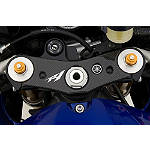 GYTR Carbon Fiber Top Clamp Panel - Yamaha GYTR Motorcycle Controls